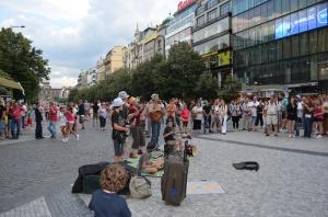 Prague Family Street Performers